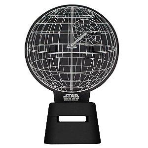 Luminária Speaker Star Wars Estrela da Morte
