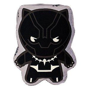 Almofada Formato Fibra Pantera Negra