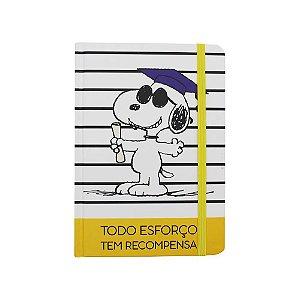 Caderno De Anotações Motivacional Snoopy