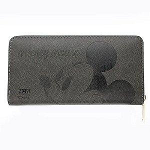 Carteira Mickey Mouse Rosto com Relevo