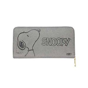 Carteira Relevo Smile Snoopy