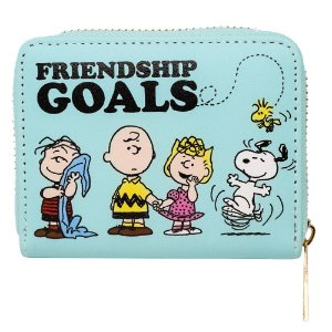 Carteira Snoopy Friendship Goals