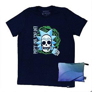 Camiseta Rick Caveira