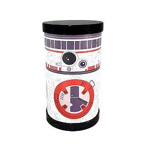 Luminária Redonda Star Wars BB8