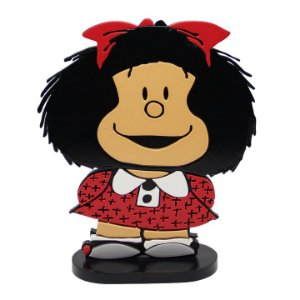Adorno relevo Bonecas - Mafalda