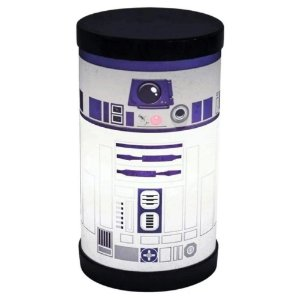 Luminária Redonda Star Wars R2D2