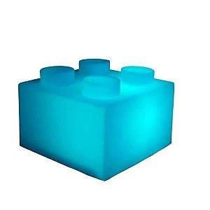 Luminária Bloco Azul