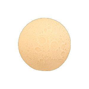Luminária Lua de Mesa branca