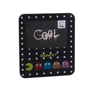 Luminária Porta Retrato Pac Man