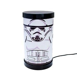 Luminária Redonda Star Wars Stormtrooper