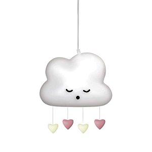 Luminária Pendente Nuvem Chuva de Amor