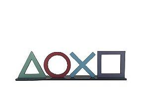 Adorno Símbolo Botões Playstation