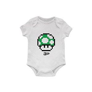 Body Bebê Mario 1 UP