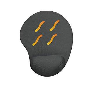 Mouse pad Ergonômico Naruto Vila da Névoa