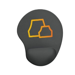 Mouse pad Ergonômico Naruto Vila da Pedra