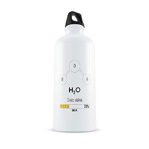 Squeeze aluminio branco Dose Dária H2O