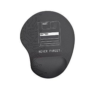 Mouse pad Ergonômico Never Forget
