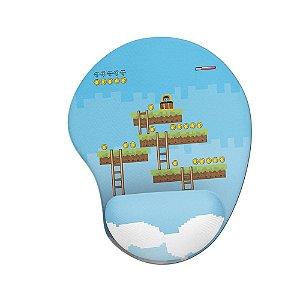 Mouse pad Ergonômico Game Que Fase