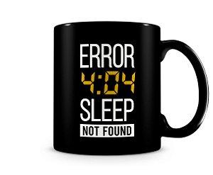 Caneca Error 404 Black