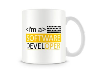 Caneca I'm a Software Developer