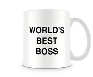 Caneca World's Best Boss