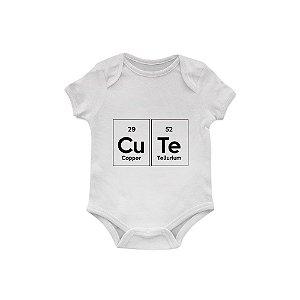 Body Bebê Cute Tabela Periódica