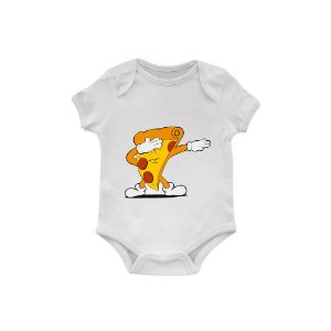 Body Bebê Pizza Dabbing