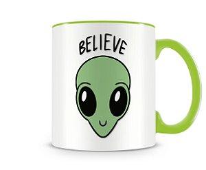 Caneca ET Believe Verde