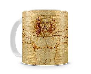 Caneca Homem Vitruviano (Leonardo Da Vinci)