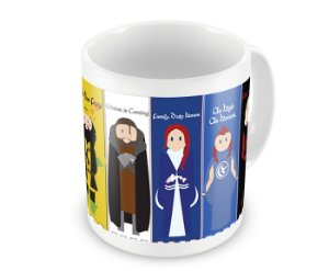Caneca Game of Thrones - Casas II