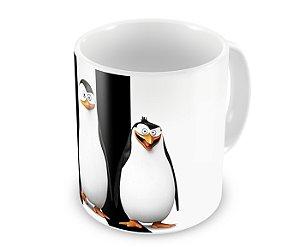 Caneca Os Pinguins de Madagascar
