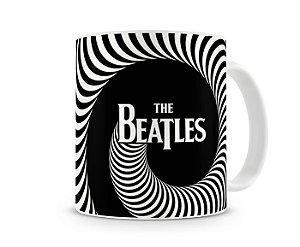 Caneca The Beatles Preto e Branco