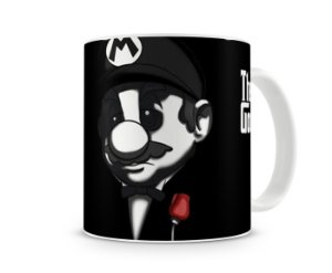 Caneca Mario Bross Poderoso Chefão