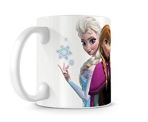 Caneca Frozen Anna Elsa Olaf