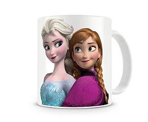Caneca Frozen Anna e Elsa