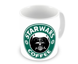 Caneca Star Wars Coffee Star Wars