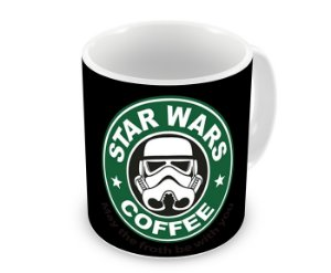 Caneca Star Wars Coffee Soldado Imperial