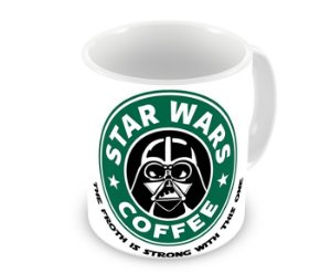 Caneca Star Wars Coffee Darth Vader Force