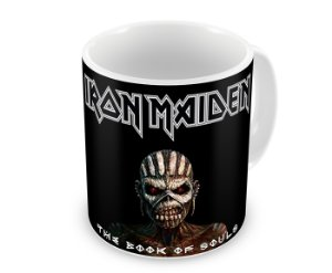 Caneca Iron Maiden The Book of Souls I