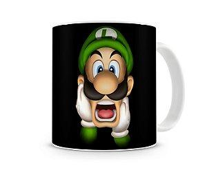 Caneca Mario Bros Luigi