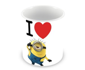 Caneca Minions I Love Minions