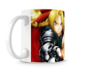 Caneca Full Metal Alchemist Brotherhood
