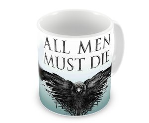 Caneca Game of Thrones All Men Must Die