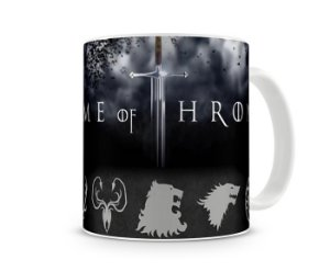 Caneca Game of Thrones Casas V