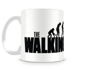 Caneca The Walking Dead Evolução