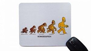 Mousepad Homer Sapiens