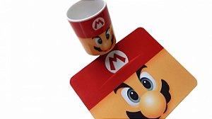 Combo Caneca + Mousepad Mario Bros