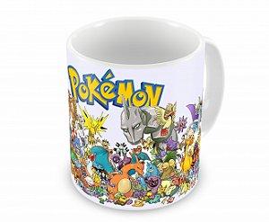 Caneca Pokémons