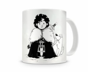 Caneca Game of Thrones - Jon Snow