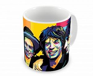 Caneca Rolling Stones Color